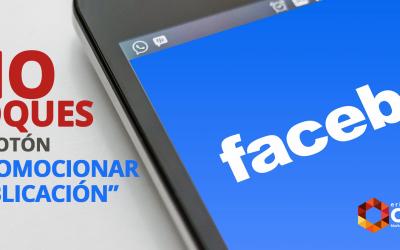"""NO utilices el botón """"Promocionar Publicación"""" en Facebook"""