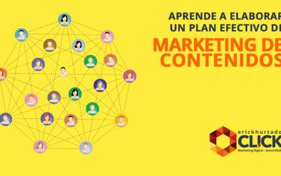 Aprende a elaborar un plan efectivo de marketing de contenidos