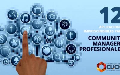 Doce aplicaciones imprescindibles para los Community Managers Profesionales