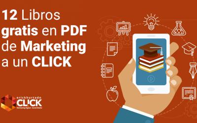 12 Libros gratis en PDF de Marketing a un CLICK