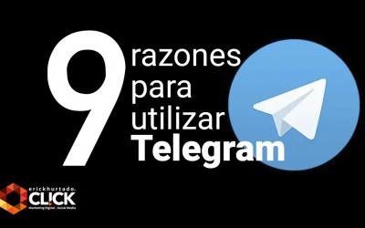 9 razones para utilizar Telegram