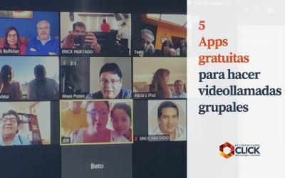 5 Apps gratuitas para hacer videollamadas grupales