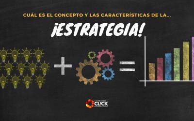 ¿Cuál es el concepto de estrategia?