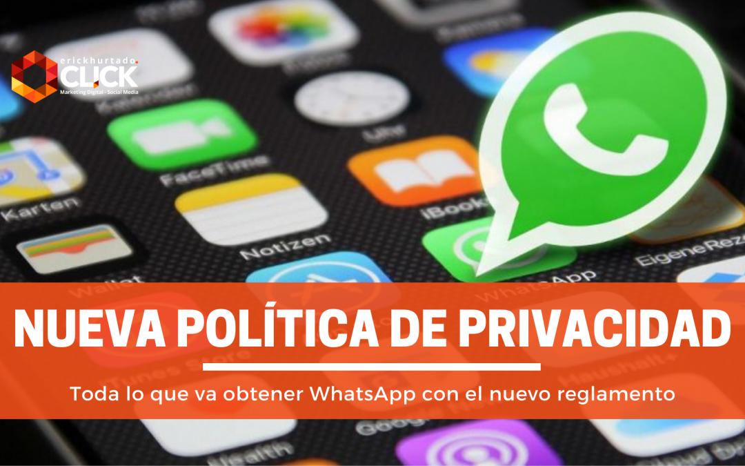 ¿Qué significa la nueva Política de Privacidad de WhatsApp en 2021?