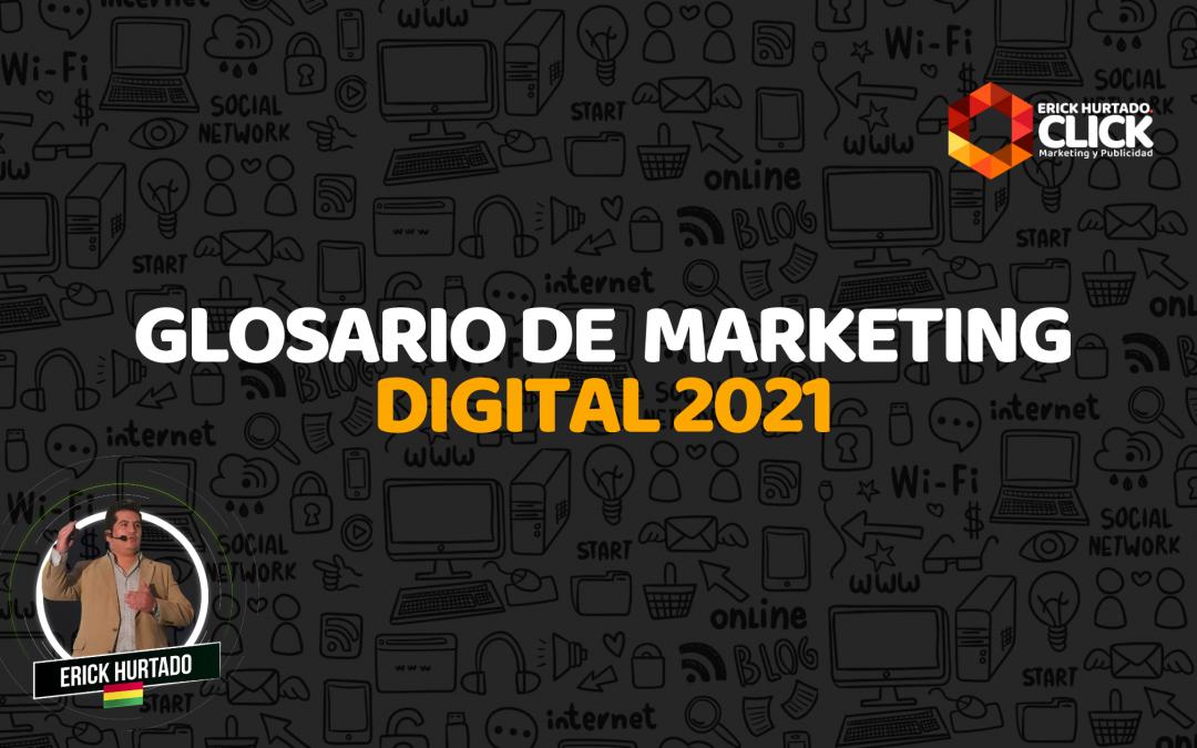 Glosario de marketing digital 2021